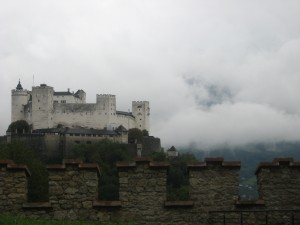 Salzburg in the Fog